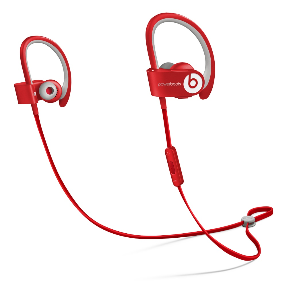 Apple Beats Powerbeats 2 Wireless - červená