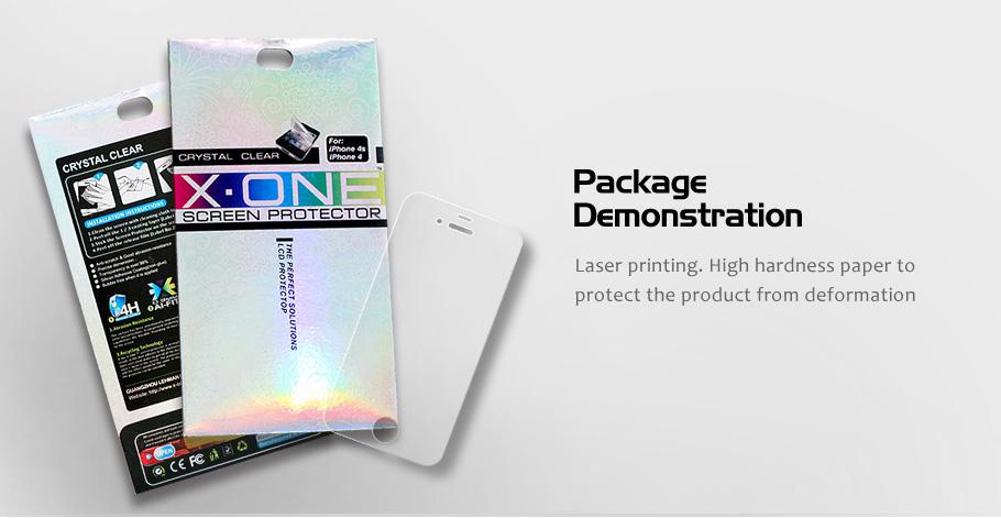 """Ochranná folie Crystal Clear pro iPhone 6 4,7"""", X-One"""