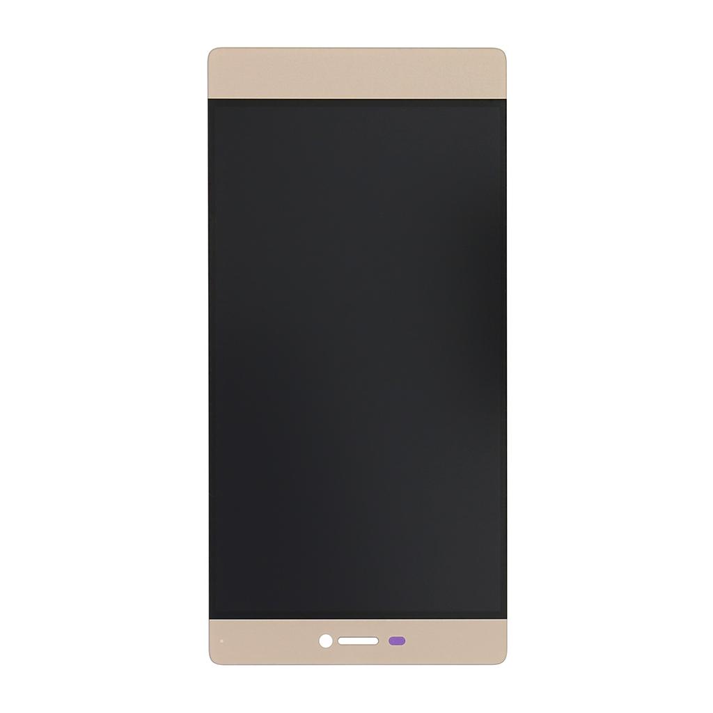LCD Display + dotyková deska pro Huawei Ascend P8, zlatá
