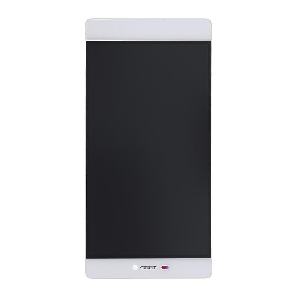 LCD Display + dotyk. deska + přední kryt pro Huawei Ascend P8, bílá