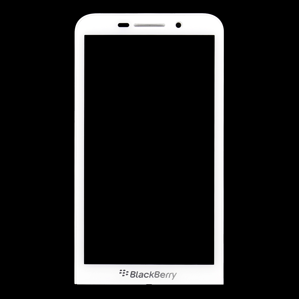 LCD Display + dotyková deska pro BlackBerry Z30, bílá