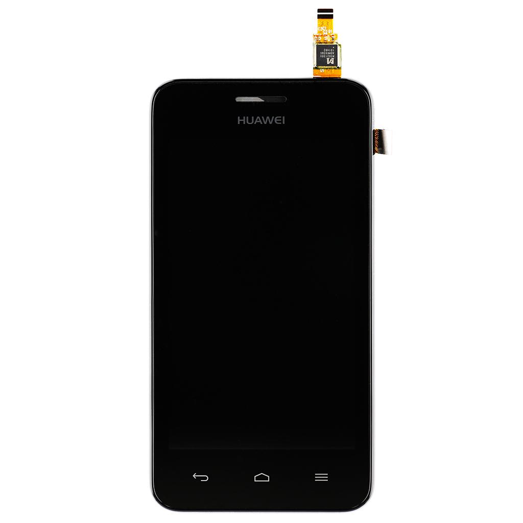 LCD Display + dotyk. deska + př. kryt pro Huawei Ascend Y330, černá