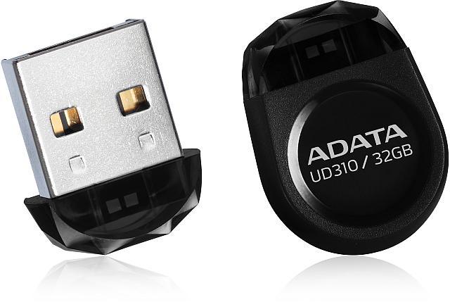 Flash disk ADATA UD310 64GB, USB 2.0, černý
