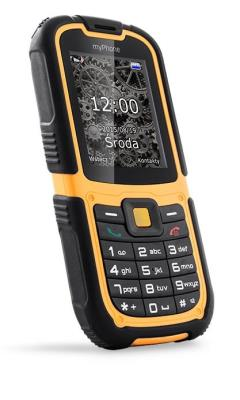 CPA myPhone HAMMER 2 Dual SIM Orange Black