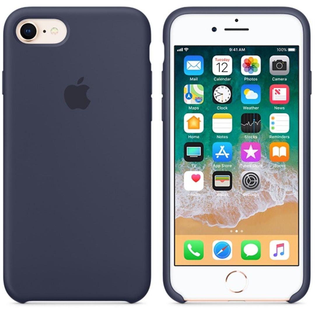 Silikonové pouzdro Apple iPhone 6s Plus Midnight Blue - TPU ... b261db6af0b