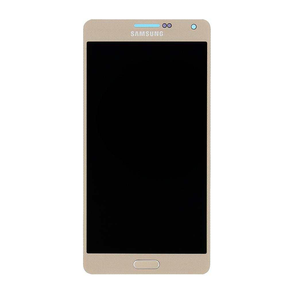 LCD display + dotyková deska Gold pro Samsung A700F Galaxy A7 - originál