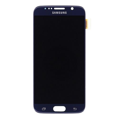 LCD display + dotyk. deska pro Samsung Galaxy S6 G920, černá