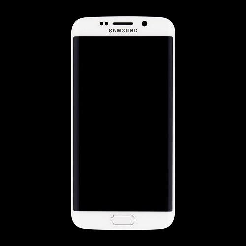 LCD display + dotyková deska + přední kryt White pro Samsung Galaxy S6 Edge G925 - originál
