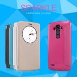 Flip, pouzdro na mobil ASUS Zenfone GO ZC500TG, Nillkin Sparkle S-View černé