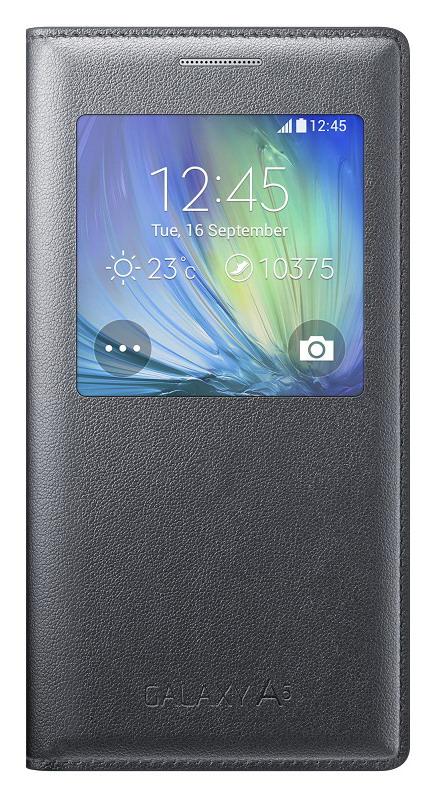 EF-CA500BCE Samsung S-View Pouzdro Black pro Galaxy A5 (EU Blister)