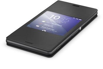 Pouzdro flip SCR24 Smart Cover Sony Xperia Z3 černé
