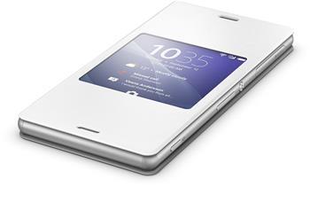 Pouzdro flip SCR24 Smart Cover Sony Xperia Z3 bílé