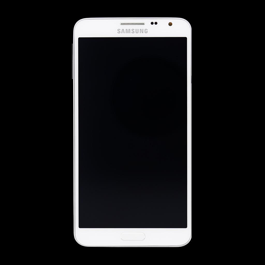 LCD display + dotyková deska + přední kryt Wite pro Samsung Galaxy Note3 N7505 Neo - originál