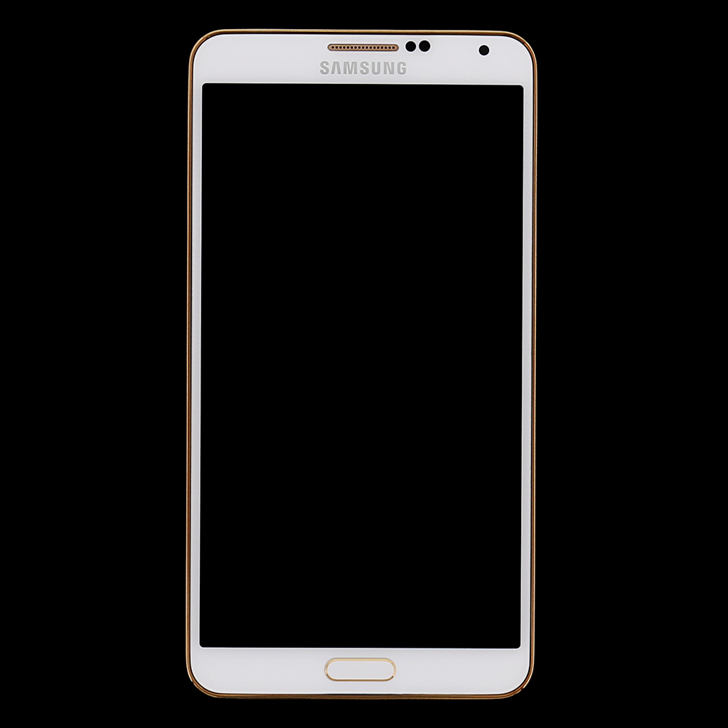 LCD display + Dotyk + Přední kryt Samsung N9005 Galaxy Note3 White Gold