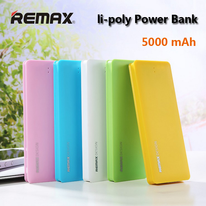 Power bank Remax Ultrathin Desi 5000mAh Li-Pol bílá