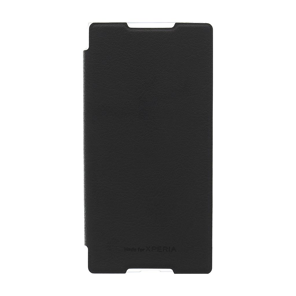 Original flip SMA5157B Sony Xperia Z3+ černé