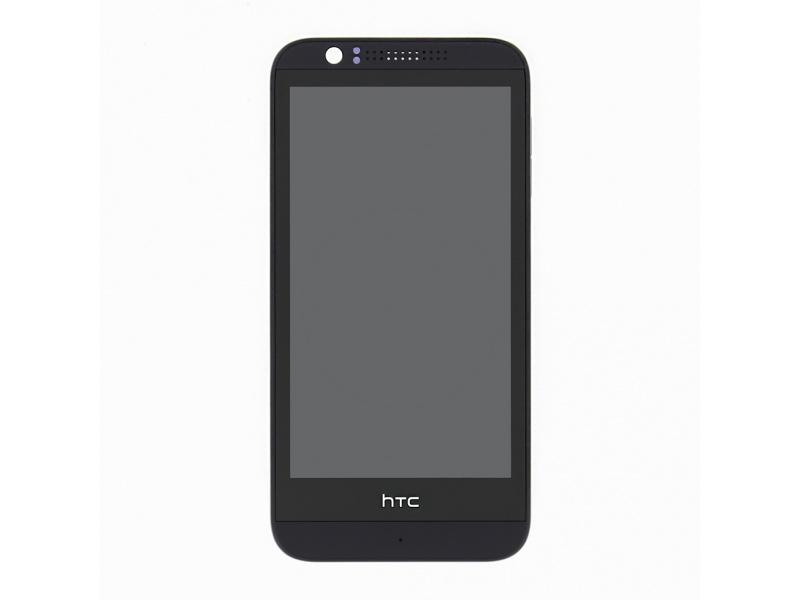 LCD Display + dotyková deska + přední kryt pro HTC Desire 510 - originál