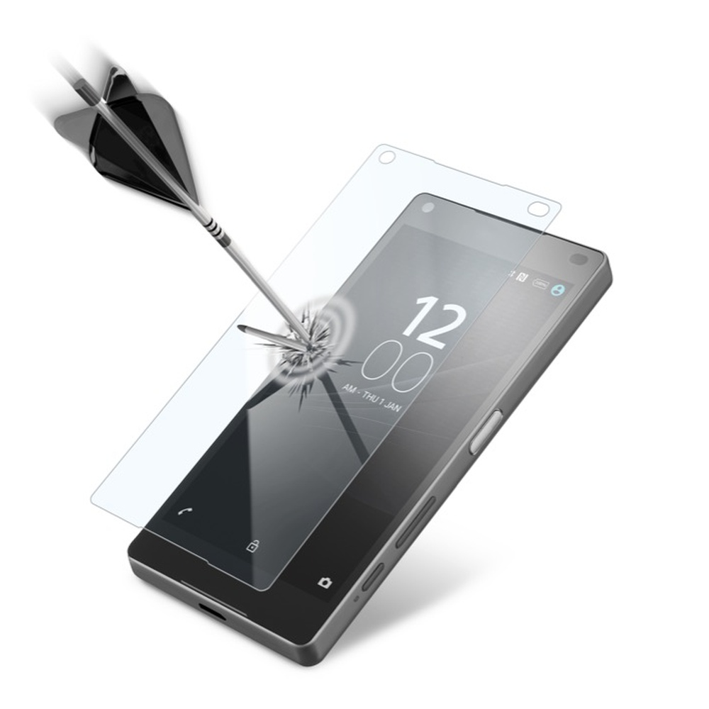 Tvrzené sklo na Sony Xperia Z5 Compact CellularLine Glass