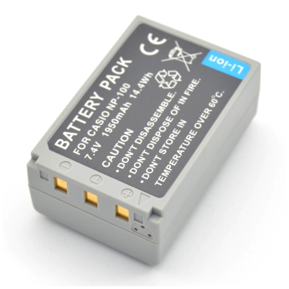 Baterie Extreme Energy typ Casio NP-70, Li-Ion 1950 mAh