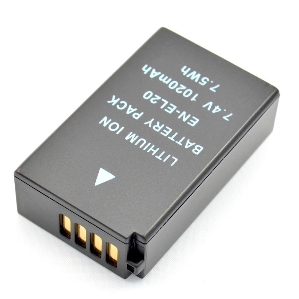 Baterie Extreme Energy typ Nikon EN-EL20, Li-Ion 1020 mAh