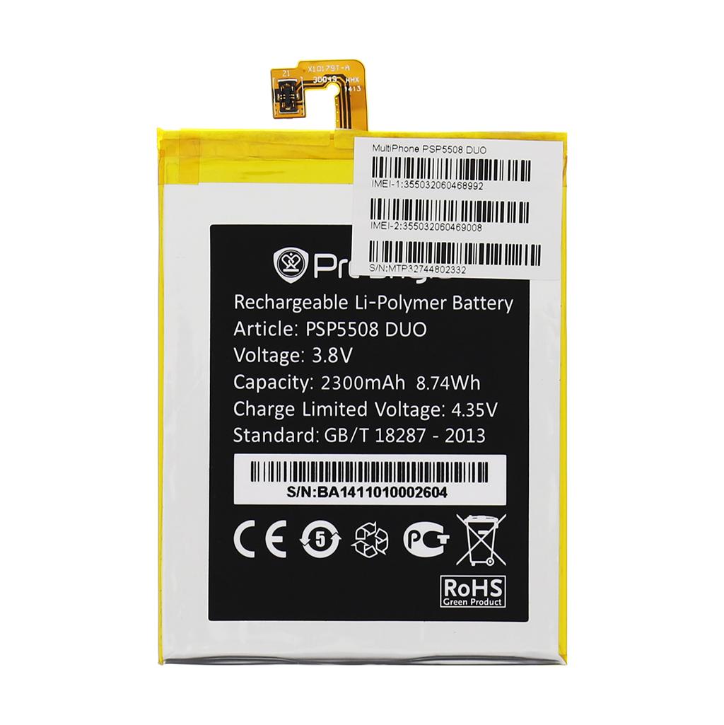 Baterie pro Prestigio Multiphone 5508 DUO 2300mAh Li-Pol (Bulk)