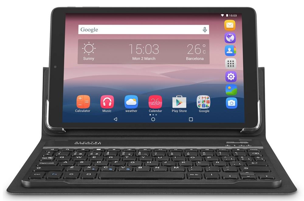 Alcatel OneTouch Pixi 3 (10) WIFI Black + pouzdro s klávesnicí