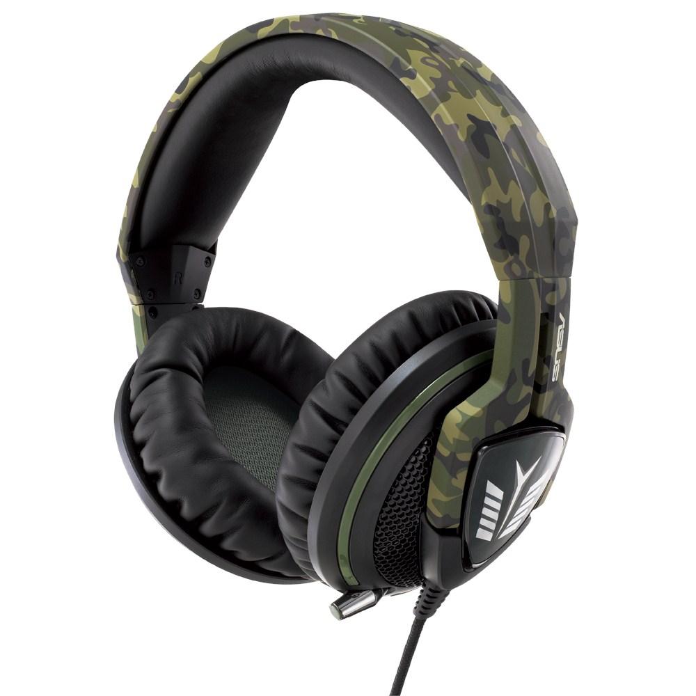 Sluchátka ASUS ECHELON Forest + Echelon Pad Gaming zelené
