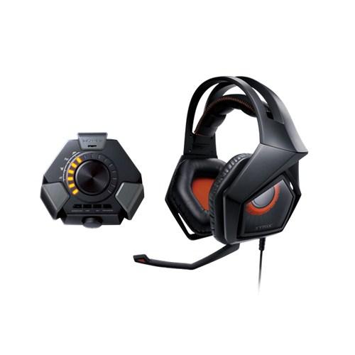 Herní sluchátka ASUS STRIX DSP + Echelon Pad Gaming černé