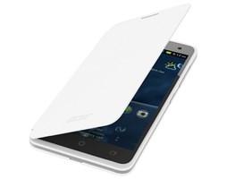 Pouzdro flip Cover na Acer Liquid Z520 bílé