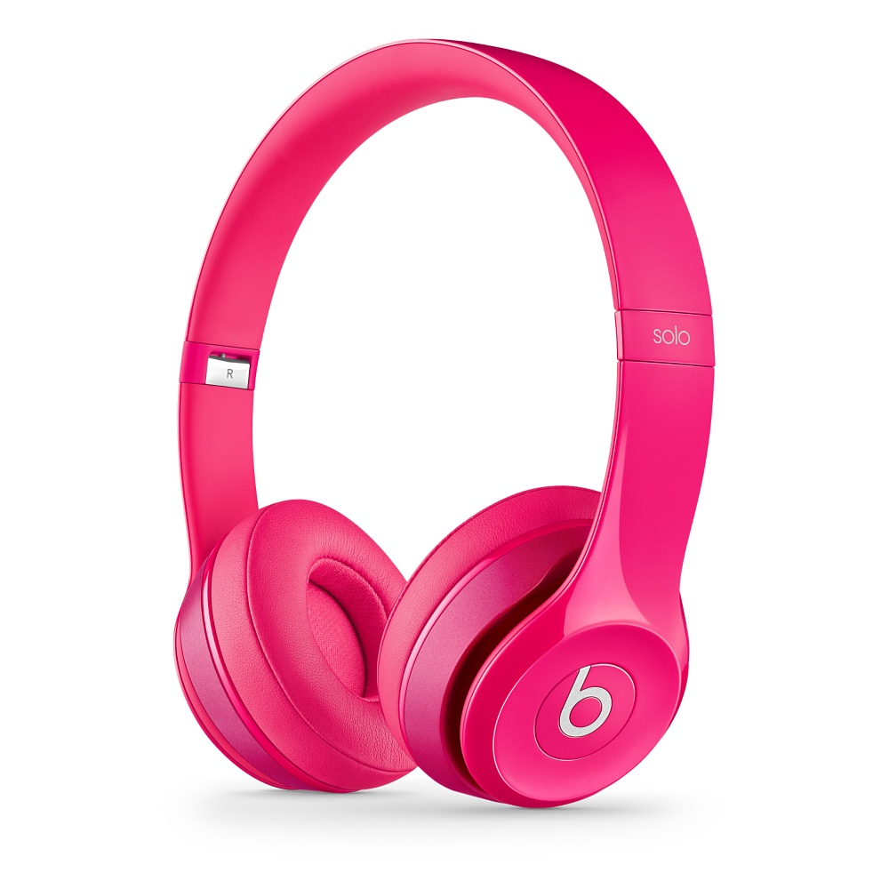 Stylová sluchátka Apple Beats Solo2 On-Ear Headphones růžové
