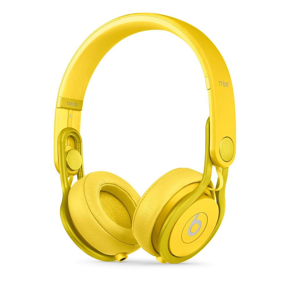 Stylová sluchátka Apple Beats Mixr High-Performance žluté