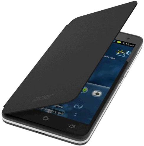 Pouzdro flip Cover na Acer Liquid Z520 černé