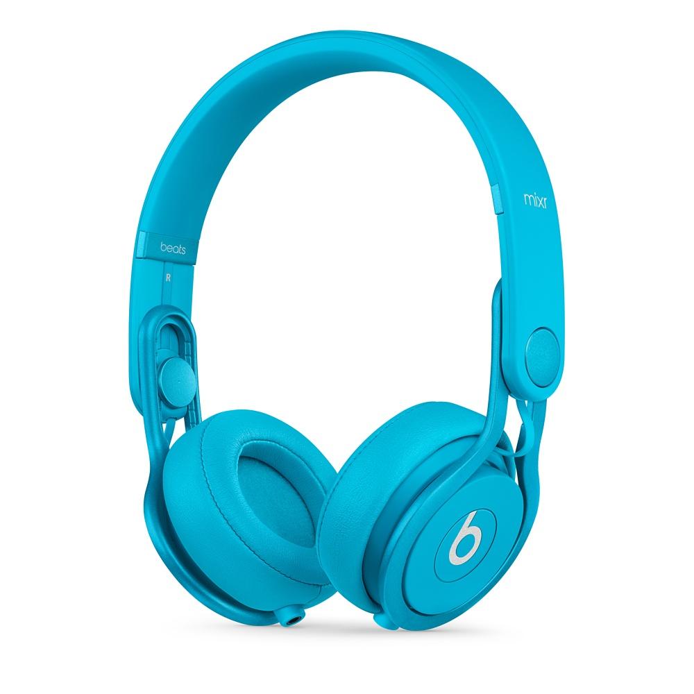 Stylová sluchátka Apple Beats Mixr High-Performance světle modré