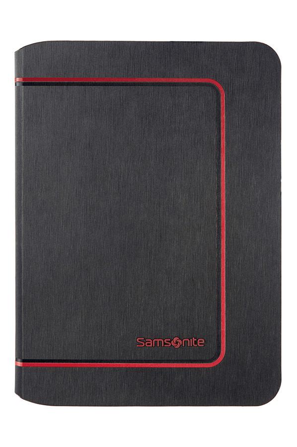 Flipové pouzdro Samsonite Tabzone pro tablet Frame-iPad Air 2 černo/červené