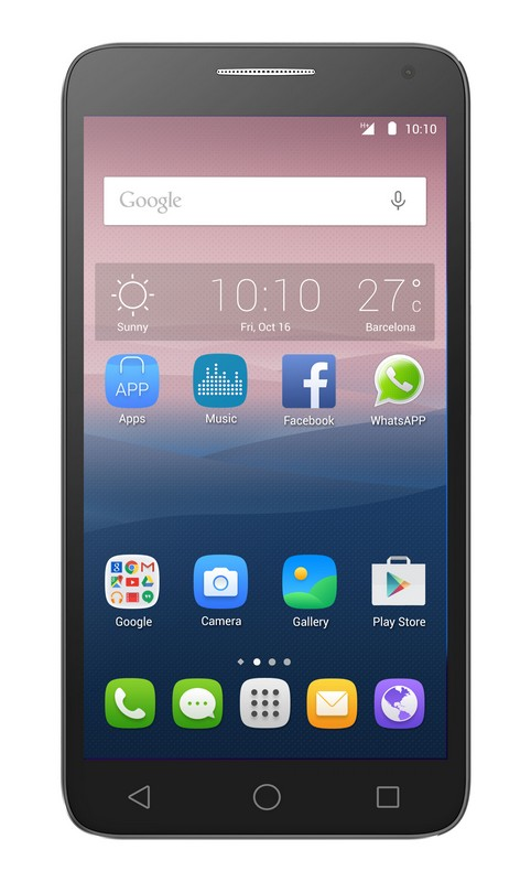 Alcatel OneTouch POP 3 (5.5) 5025D - Black Leather