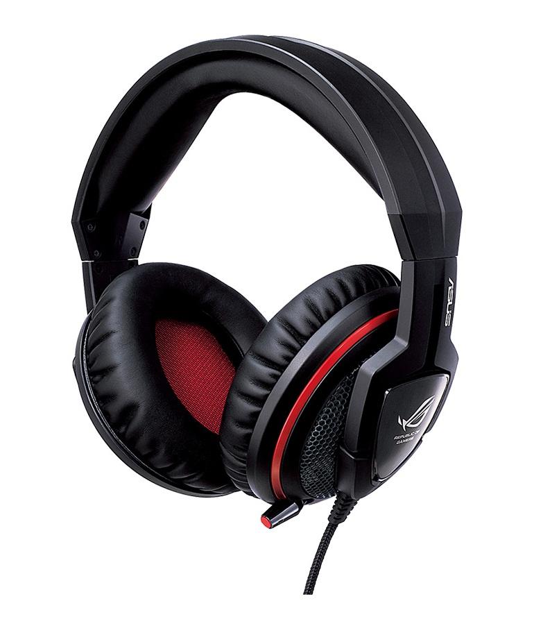 Stylová herní sluchátka Orion Gaming Headset černo-červené