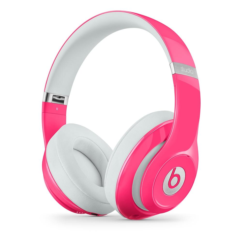 Stylová sluchátka Apple Beats Studio 2 Over-Ear Headphones růžové