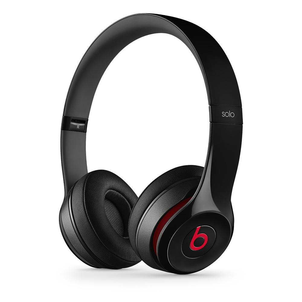 Stylová sluchátka Apple Beats Solo2 On-Ear Headphones černé