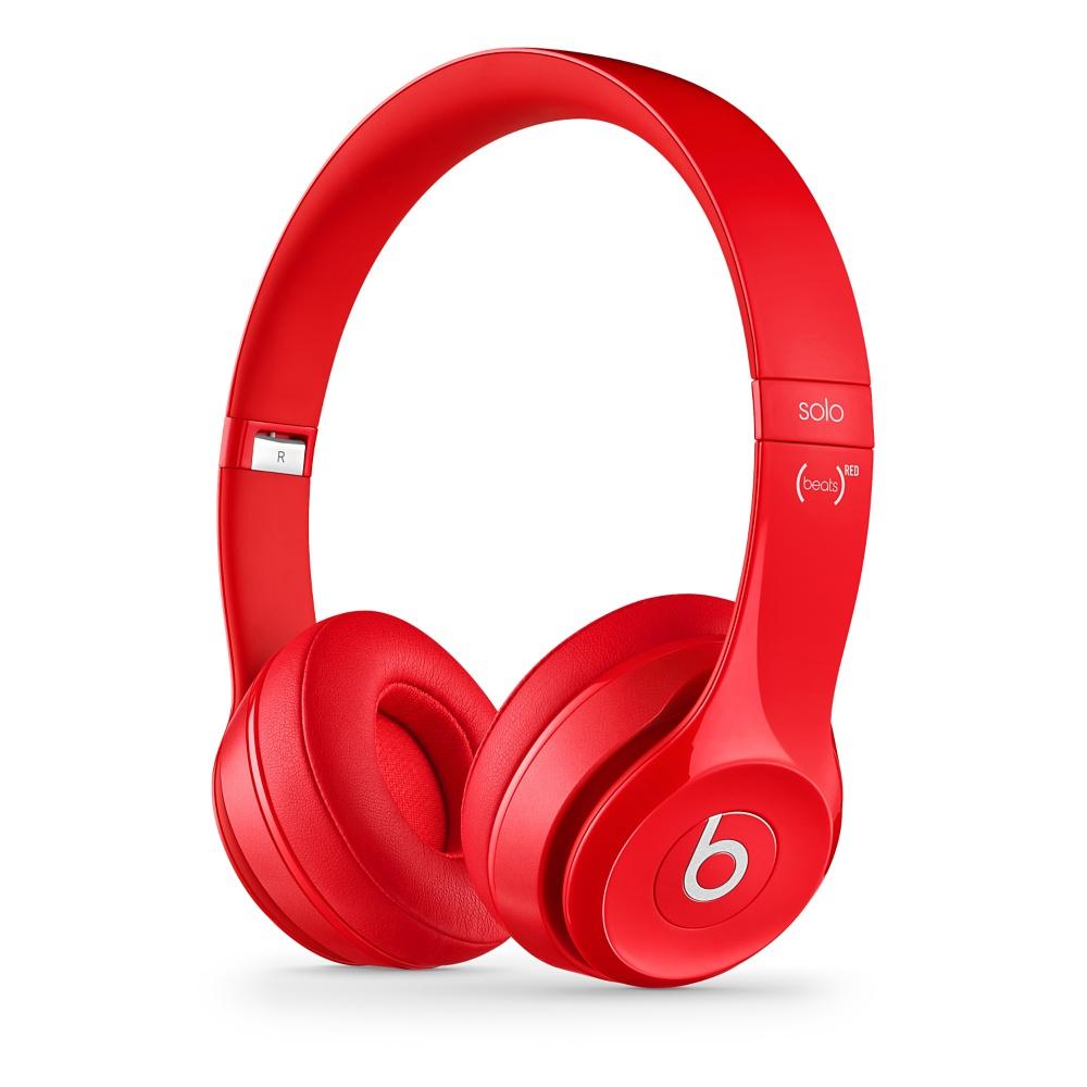 Stylová sluchátka Apple Beats Solo2 On-Ear Headphones červené