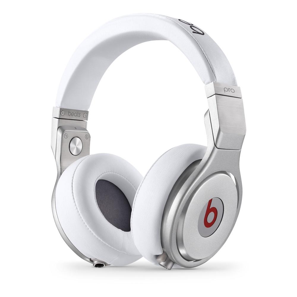 Stylová sluchátka Apple Beats Pro Over-Ear Headphones bílé