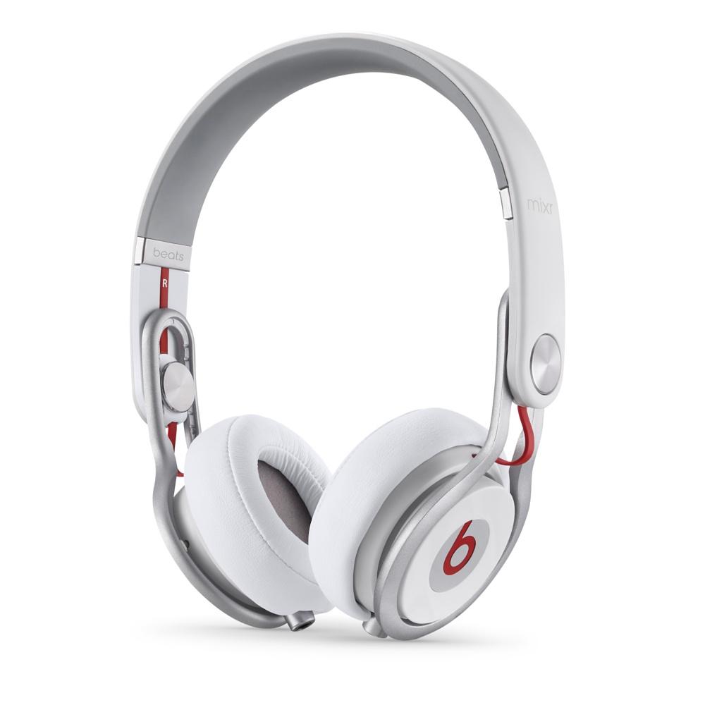 Stylová sluchátka Apple Beats Mixr On-Ear Headphones bílé