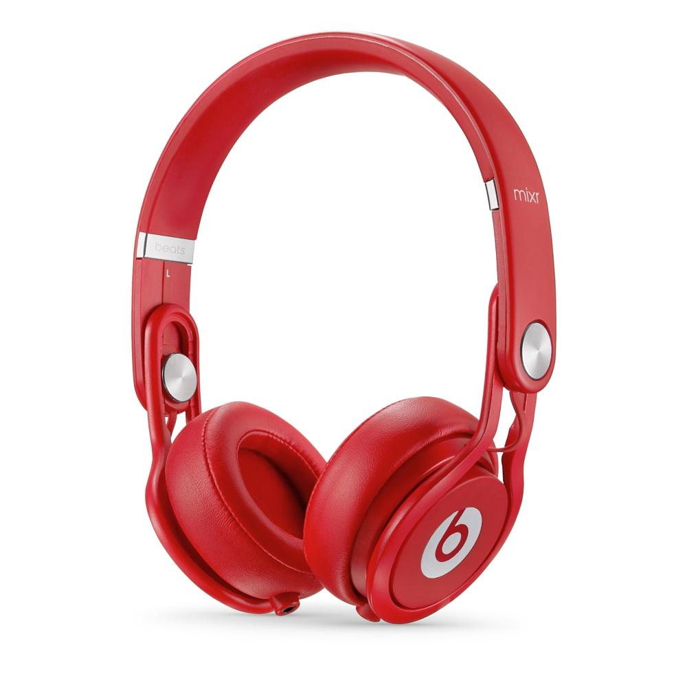 Stylová sluchátka Apple Beats Mixr On-Ear Headphones červené