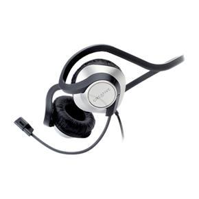 Stylová sluchátka CREATIVE HS-420 bílé