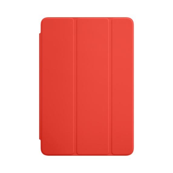 Pouzdro na Apple iPad mini 4 Smart Cover Orange, MKM22ZM/A