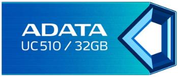 Flash disk ADATA USB UC510 32GB modrý