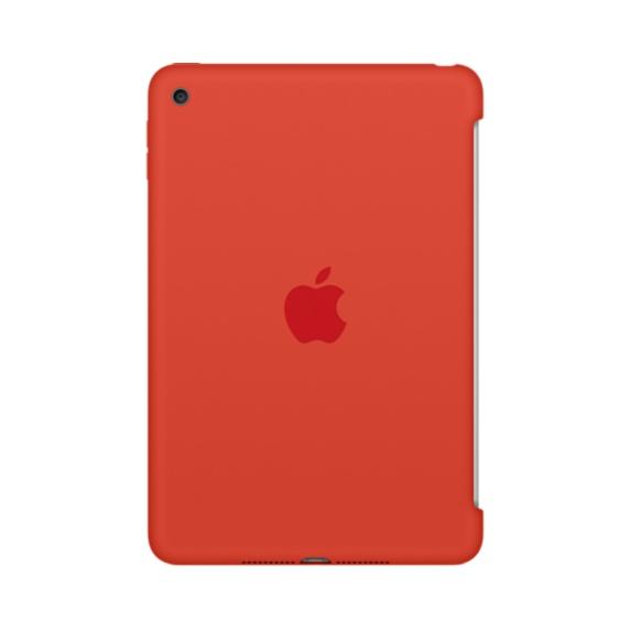 Apple iPad mini 4 Silicone Case Orange, MLD42ZM/A