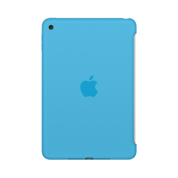 Apple iPad mini 4 Silicone Case Blue, MLD32ZM/A