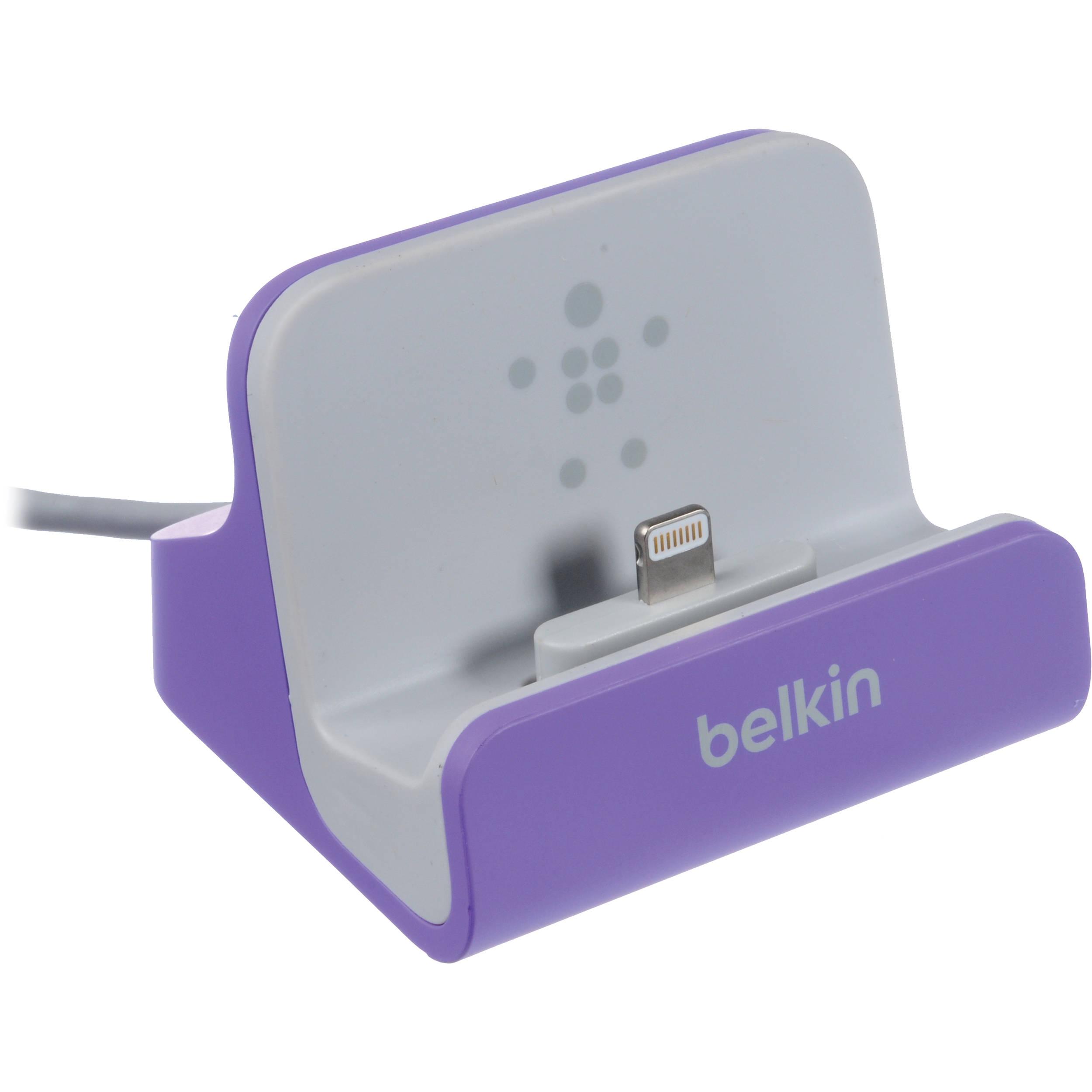 Dokovací stanice BELKIN pro Apple iPhone 5 aktiv.fialová