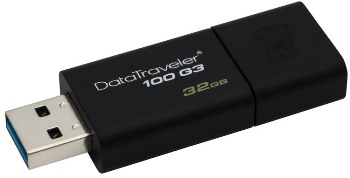 Flash disk Kingston 32GB USB 3.0 DataTraveler 100 G3