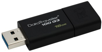 Flash disk Kingston 16GB USB 3.0 DataTraveler 100 G3